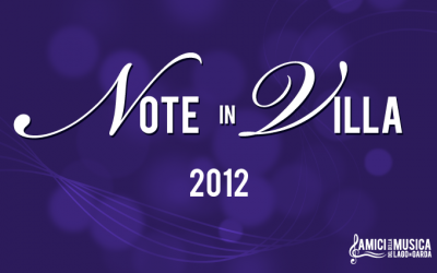 NOTE IN VILLA 2012