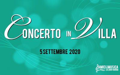 Concerto in Villa a favore di Telefono Rosa di Verona